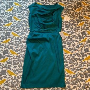Sushi Chin Maggy Boutique Teal Dress NWT Size 6
